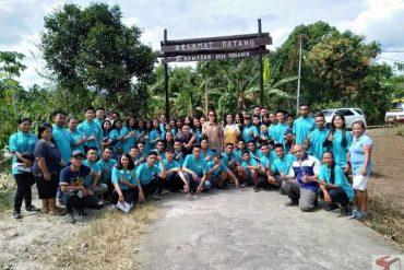 SMK PPN Kalasey Kunjungi Desa Organik Tumaluntung