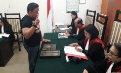 Ketua Partai Hanura Sulut Bersaksi di Sidang Hendra Jacob