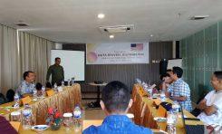 Jurnalis di Kotamobagu Mendapat Pelatihan Liputan Investigasi Berbasis Data