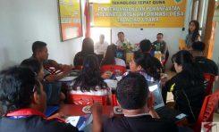 Perangkat Desa Talaitad Utara Ikut Pelatihan Penggunaan Platform Mata Desa