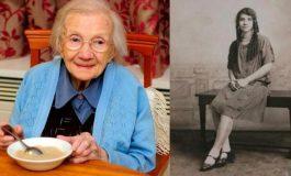 Wanita ini berusia 109 tahun, karena menjauhi laki-laki