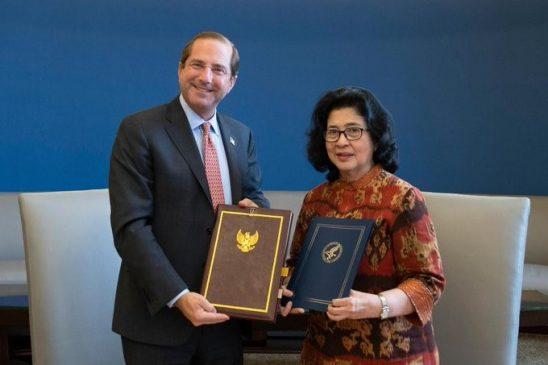 Indonesia dan Amerika tandatangani kesepakatan bidang kesehatan