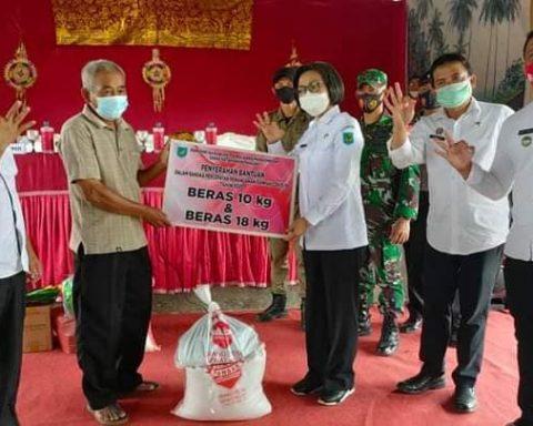 Bantuan sosial di Bolmong