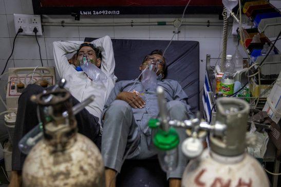 Covid-19 di India semakin tidak terkendali, per hari ada 300 ribu kasus, 3.000 kematian