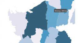 Peta: sebaran penduduk miskin di Bolmong