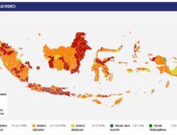 Zona merah di Indonesia bertambah, kini 195 kabupaten/kota