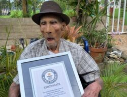 Guinness World Records catat pria tertua di dunia, berapa usianya?
