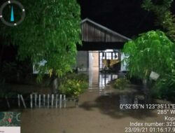 70 rumah warga terendam akibat banjir yang melanda dua desa di Bolmut