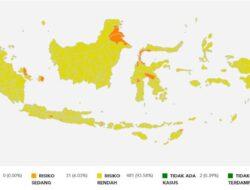 Kabar gembira! Indonesia terbebas dari zona merah