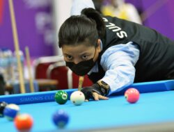 Foto-foto: Atlet Putri Sulut di Billiar POX XX Papua