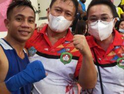 Juandi Abas melaju ke semifinal setelah tumbangkan petinju Papua Barat