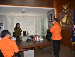 Evangelian Sasingen kunjungi Basarnas, bahas tentang pembangunan pos Basarnas di Sitaro