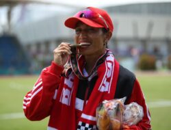 Sempat Cedera, Maria Londa harumkan nama Bali sabet emas di cabor Lompat Jauh