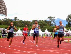 Sprinter NTB Muhammad Zohri juarai final lari 100 meter